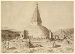 No 2. Buddhist Temple, called 'Dundeo' near Pasuputti. March 1854